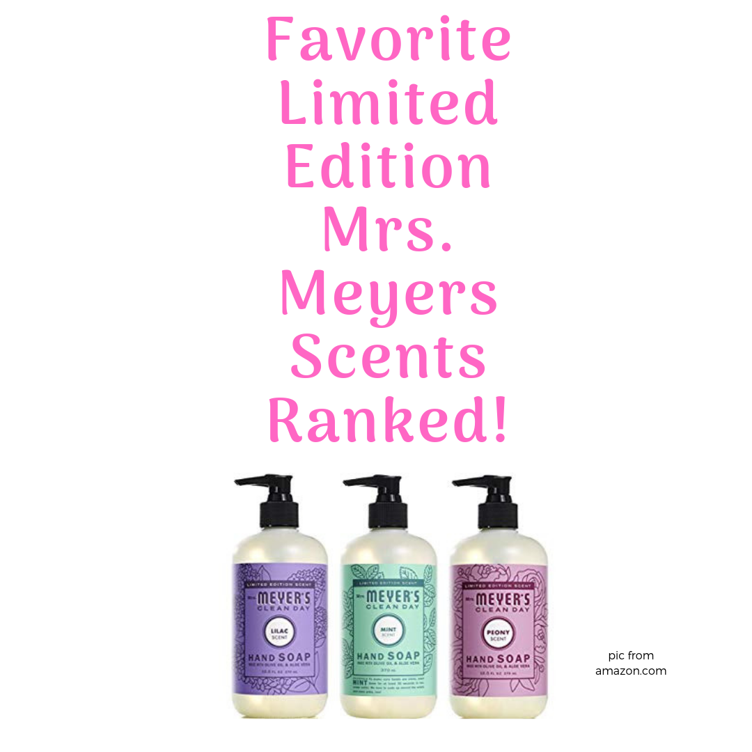Ranked Best And Worst Mrs Meyer S Limited Edition Scents